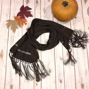 🍁 NWOT Beautiful brown scarf 🍁